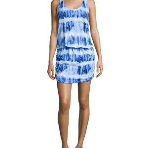 Soft Joie Blue Racerback Dress XS